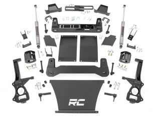 """4"""" 2019-2021 Chevy Silverado 1500 Trail Boss 4wd Lift Kit by Rough Country"""