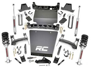 """7"""" 2014-2018 Chevy Silverado 1500 4wd Lift Kit (w/lifted struts) by Rough Country"""