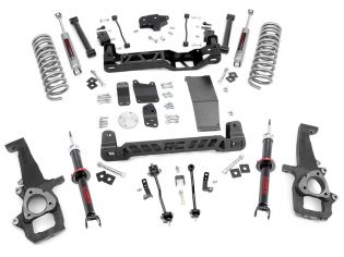 """6"""" 2009-2010 Dodge Ram 1500 4WD Lift Kit (w/lifted struts) by Rough Country"""