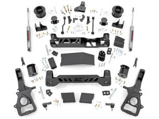 """5"""" 2019-2021 Dodge Ram 1500 4WD (w/factory air ride suspension) Lift Kit by Rough Country"""