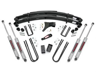 """4"""" 1982-1985 Ford F350 4WD Lift Kit by Rough Country"""