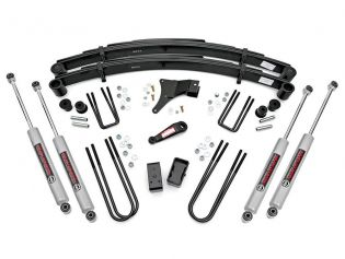 """4"""" 1986-1998 Ford F350 4WD Lift Kit by Rough Country"""