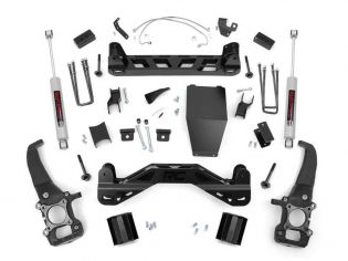 """4"""" 2004-2008 Ford F150 4WD Lift Kit by Rough Country"""