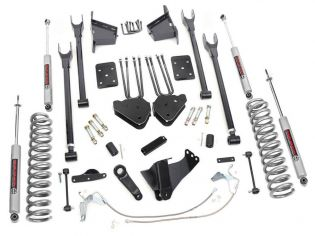 """8"""" 2008-2010 Ford F250/F350 Diesel 4WD 4-Link Lift Kit by Rough Country"""