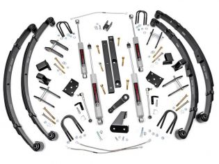 """4.5"""" 1987-1995 Jeep Wrangler YJ (Manual Steering) 4WD Lift Kit by Rough Country"""