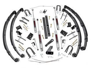 """4.5"""" 1987-1995 Jeep Wrangler YJ (Power Steering) 4WD Lift Kit by Rough Country"""