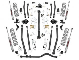 """4"""" 2018-2021 Jeep Wrangler JL (4-door) 4WD Long Arm Lift Kit by Rough Country"""