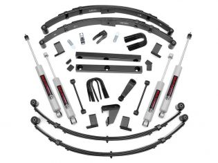 """4"""" 1987-1995 Jeep Wrangler YJ (Power Steering) 4WD Lift Kit by Rough Country"""