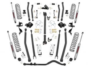 """6"""" 2018-2021 Jeep Wrangler JL (4-door) 4WD Long Arm Lift Kit by Rough Country"""