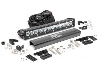 """12"""" Cree LED Light Bar - (Single Row   Chrome Series) by Rough Country"""