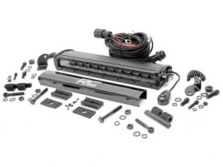 """12"""" Cree LED Light Bar - (Single Row   Black Series) by Rough Country"""