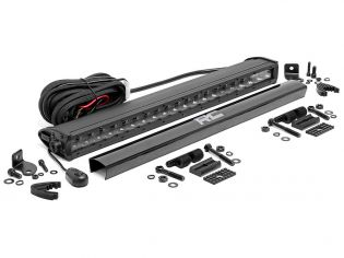 """20"""" Cree LED Light Bar - (Single Row   Black Series) by Rough Country"""