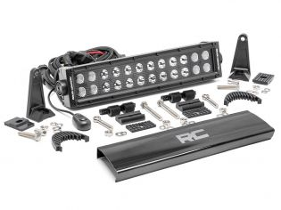 """12"""" Cree LED Light Bar - (Dual Row   Black Series) by Rough Country"""