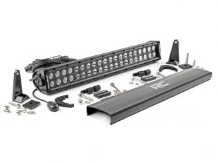 """20"""" Cree LED Light Bar - (Dual Row   Black Series) by Rough Country"""