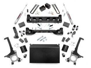 """4.5"""" 2007-2015 Toyota Tundra Lift Kit by Rough Country"""