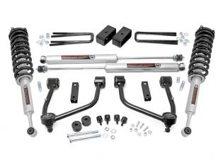 """3.5"""" 2007-2021 Toyota Tundra 4wd & 2wd Lift Kit (w/lifted struts) by Rough Country"""