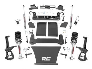 """6"""" 2019-2021 Chevy Silverado 1500 4wd Lift Kit (w/lifted struts) by Rough Country"""