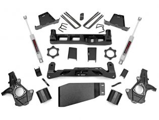 """6"""" 2007-2013 GMC Sierra 1500 4wd Lift Kit by Rough Country"""