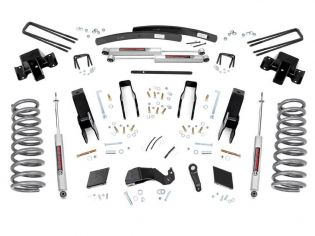 """5"""" 2000-2002 Dodge Ram 2500 4WD Lift Kit by Rough Country"""