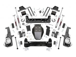 """7"""" 2020-2021 GMC Sierra 2500HD 4wd Lift Kit by Rough Country"""