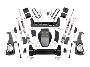"""5"""" 2020-2021 GMC Sierra 2500HD 4wd Lift Kit by Rough Country"""