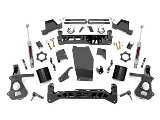 """7"""" 2014-2018 Chevy Silverado 1500 4WD Lift Kit (w/knuckles) by Rough Country"""