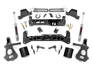 """7"""" 2014-2018 Chevy Silverado 1500 2WD Lift Kit by Rough Country"""