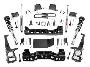 """6"""" 2011-2014 Ford F150 4WD Lift Kit (w/lifted struts) by Rough Country"""