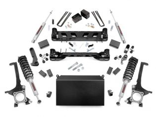 """6"""" 2016-2021 Toyota Tundra 4WD Lift Kit (w/lifted struts) by Rough Country"""