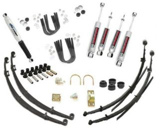 """4"""" 1972-1982 International Scout II, Terra and Traveler 4WD Deluxe Lift Kit by Jack-It"""