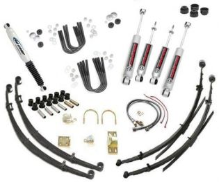 """4"""" 1972-1982 International Scout II, Terra and Traveler 4WD Premium Lift Kit by Jack-It"""
