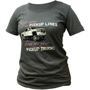 Women's T-Shirt - Pickup Lines by Jack-It