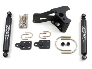 F250/F350 2005-2021 Ford 4WD Dual Steering Stabilizer Kit by Zone
