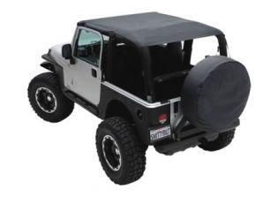 JK 2007-2009 Jeep Black Diamond Extended Top (2 dr) by Smittybilt