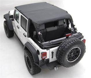 JK 2007-2009 Jeep Black Diamond Extended Top (4 dr) by Smittybilt