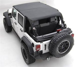 JK 2010-2018 Jeep Unlimited Black Diamond Extended Top (4 dr) by Smittybilt