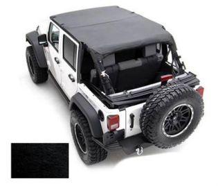 TJ 1997-2006 Jeep Black Denim Extended Top by Smittybilt