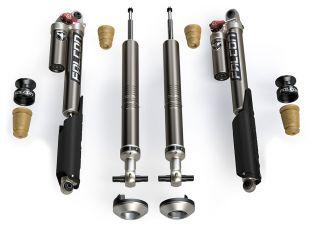 "F150 2015-2021 Ford w/ 4-6"" Lift - Falcon Sport Tow/Haul Leveling Shock Kit by Teraflex"