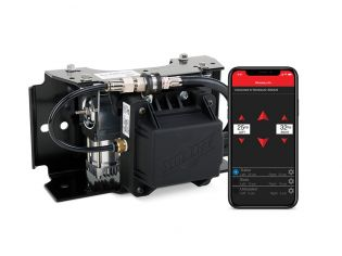 WirelessAIR Compressor System with EZ-Mount by Air Lift (3rd Generation)