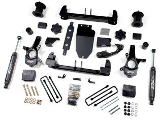 """6.5"""" 2014-2018 GMC Sierra 1500 4WD (w/aluminum or stamped steel factory arms) Lift Kit by Zone"""