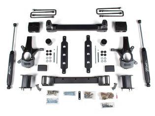 """6.5"""" 2014-2018 GMC Sierra 1500 2WD (w/cast steel factory arms) - Lift Kit by Zone"""