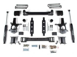 """6.5"""" 2014-2018 Chevy Silverado 1500 2WD (w/aluminum or stamped steel factory arms) - Lift Kit by Zone"""