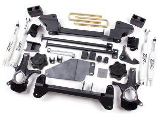 """6"""" 1999-2006 Chevy Silverado 1500 (w/Gas engine) 4WD Lift Kit by Zone"""