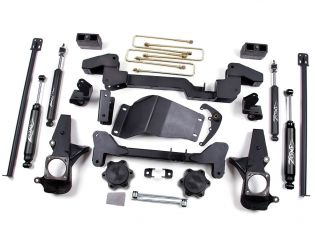 """6"""" 2001-2006 Chevy Suburban 2500 4WD IFS Lift Kit by Zone"""