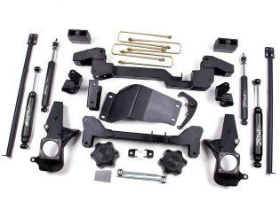 """6"""" 2001-2010 GMC Sierra 2500HD 4WD Lift Kit by Zone"""