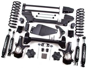 """6"""" 2000-2006 Chevy Suburban / Tahoe 1500 4WD IFS Lift Kit by Zone"""
