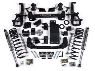 """6"""" 2019-2021 Dodge Ram 1500 & Rebel 4wd (w/o air ride suspension) Lift Kit by Zone"""