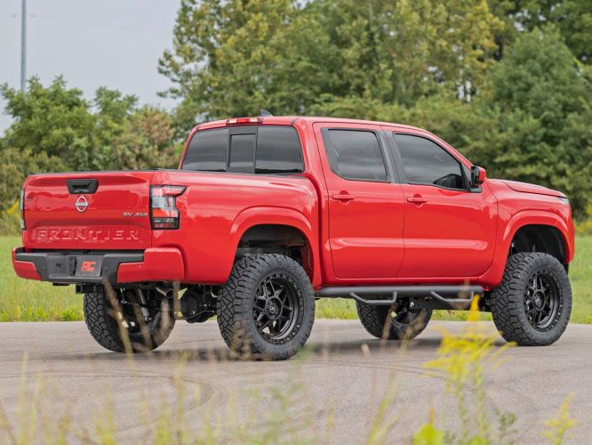 nissan frontier rough country 6