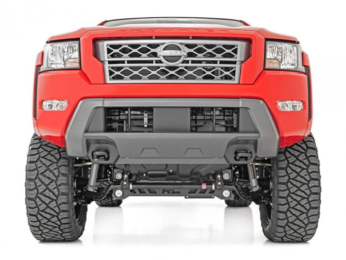 nissan frontier rough country head on