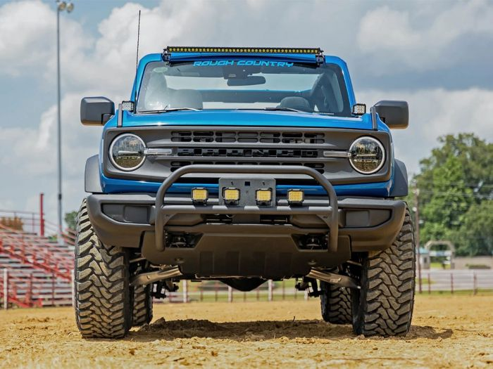 rough country head on 3.5 inch lift kit